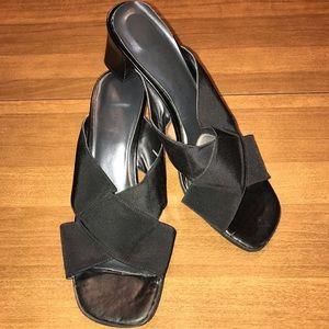 Cloudwalker black sandals